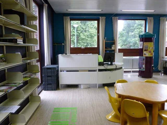 Kathleen Dubois. Library Tielt-Winge (Belgium)